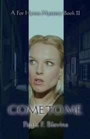 Cover of: Come to Me