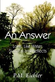 Cover of: An Answer