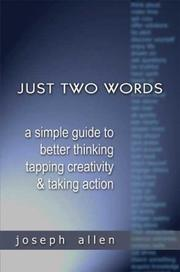 Cover of: Just Two Words