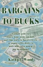 Cover of: Bargains to Bucks