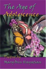Cover of: The Age of Adolescence