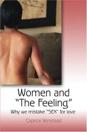 Cover of: Women and the Feeling