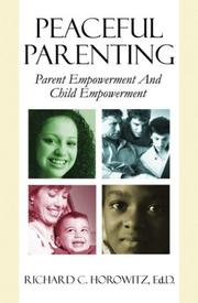 Cover of: Peaceful Parenting