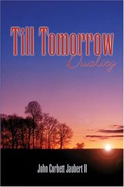Cover of: Till Tomorrow