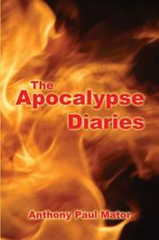 Cover of: The Apocalypse Diaries
