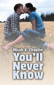 Cover of: You'll Never Knowa