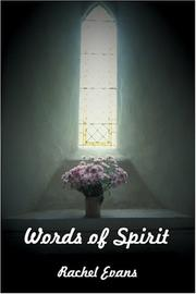 Cover of: Words of Spirit
