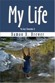 Cover of: My Life