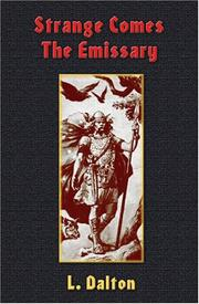 Cover of: Strange Comes the Emissary