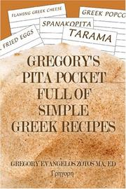 Cover of: Gregory's Pita Pocket Full Of Simple Greek Recipes