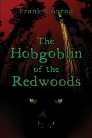 Cover of: The Hobgoblin of the Redwoods