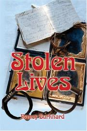 Cover of: Stolen Lives