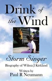 Cover of: Drink Of The Windá