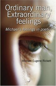 Cover of: Ordinary man, Extraordinary feelings