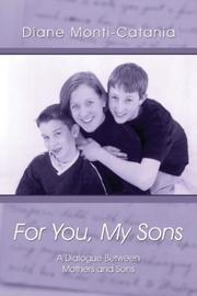Cover of: For You, My Sons