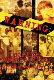Cover of: Warning