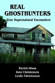 Cover of: Real Ghosthunters | Patrick Olson