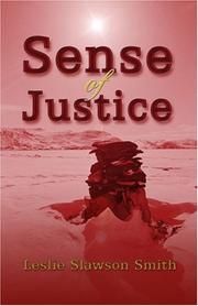 Cover of: Sense of Justice