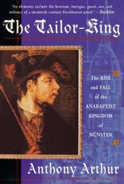 Cover of: The tailor king
