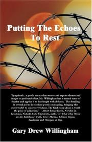 Cover of: Putting the Echoes to Rest