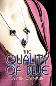 Cover of: The Quality of Blue