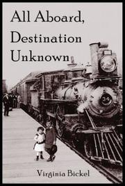 Cover of: All Aboard, Destination Unknown