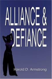 Cover of: Alliance and Defiance