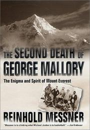 Cover of: The Second Death of George Mallory