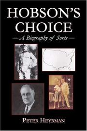 Cover of: Hobson's Choice