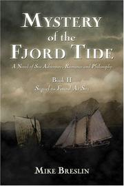 Cover of: Mystery of Fjord Tide: A Sea Adventure in Romance and Philosophy