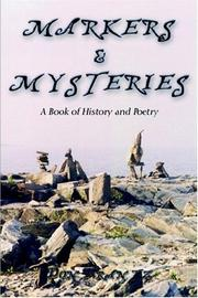 Cover of: Markers and Mysteries