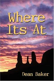 Cover of: Where It's At