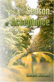 Cover of: The Season of Acceptance | Theresa Williams