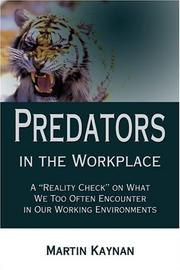 Cover of: Predators in the Workplace | Martin Kaynan