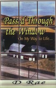 Cover of: Passed Through The Window
