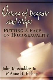 Cover of: Voices of Despair and Hope: Putting a Face Homosexuality