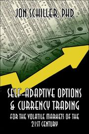 Cover of: Self-Adaptive Options & Currency Trading | Jon Schiller