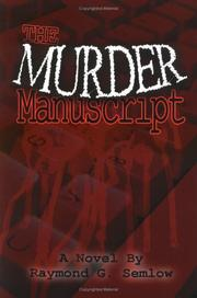 Cover of: The Murder Manuscript