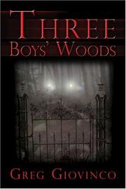 Cover of: Three Boys