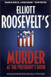 Cover of: Murder at the president's door