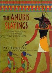 Cover of: The Anubis slayings