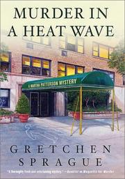 Cover of: Murder in a heat wave