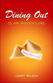 Cover of: Dining Out is an Adventure
