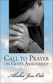 Cover of: Call to Prayer on God