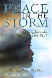 Cover of: Peace in the Storm | Elissa Gabrielle