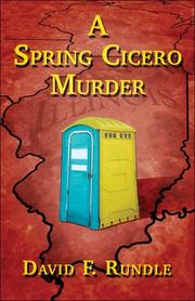 Cover of: A Spring Cicero Murder | David F. Rundle