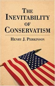 Cover of: The Inevitability of Conservatism