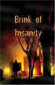 Cover of: Brink of Insanity | Gary Lee