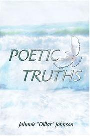 Cover of: Poetic Truths | Johnnie