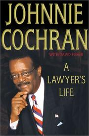 Cover of: A lawyer's life